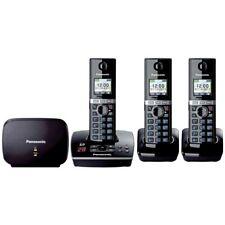 NEW Panasonic Cordless Phone Answer System 3 Handset KX-TG8033 Telephone Phone