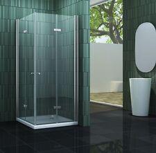 SPACE 80 x 80 x 180 cm Glas Duschkabine Dusche Duschwand Duschabtrennung