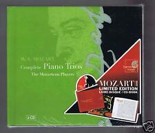 MOZART 2 CDs SET( NEW COMPLETE PIANO TRIOS/ THE MOZARTEAN PLAYERS/ STEVEN LUBIN