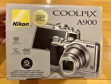 NEW NIKON COOLPIX A900 Digital Camera 20.3MP - SILVER