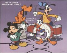 Antigua & Barbuda 1997 Disney/Mickey/Music/Cartoons/Animation 1v m/s (ad1029)