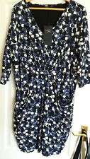 Marks & Spencer Collection Stretch Print Dress Size 24 BNWT.