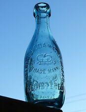 Antique Toronto, Ontario blob top squat soda bottle 'IMPERIAL SODA' FREE SHIP!