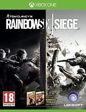 Tom Clancy's Rainbow Six Siege Xbox One Ages 18 and Over