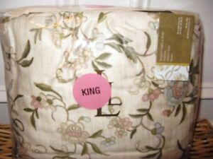 Ralph Lauren ROMANTIC TRAVELER Cal King Bedskirt NIP