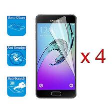 4 X Copertura Dello Schermo Guardia Scudo Film Lamina Per Samsung Galaxy A3 2016 Protettore