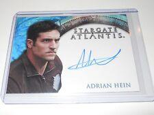 Stargate Atlantis Autograph Trading Card Adrian Hein as Replicator
