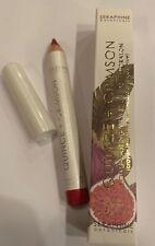 Seraphine Botanicals Quince & Crimson Velvet Lip Cheek Crayon NIB