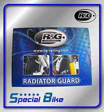 DUCATI 848 1098 1198 SET PROTEZIONE RADIATORE R&G 2 PZ RADIATOR GUARDS