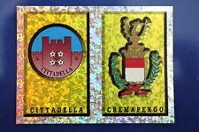Panini FIGURINA CALCIATORI 1997/98 N. 654 CITTADELLA CREMAPERGO SCUDETTO BUSTINA