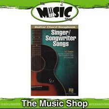 New Singer/Songwriter Songs Guitar Chord Songbook - Song Book w Chords & Lyrics