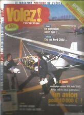 VOLEZ ! N°58 VOLEZ HAUT / MOTEUR JABIRU 2 200 / L'ESPACE AERIEN / FK12 COMET