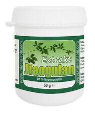Jiaogulan Extrakt (98% Gypenosiden), 50g  - Kraut der Unsterblichkeit