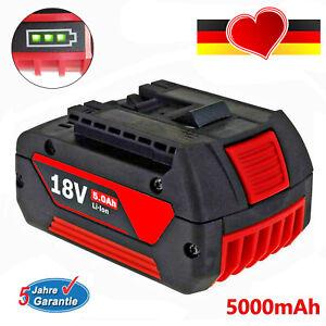 Für Bosch BAT618 BAT610G Akku Ersatzakku GBA 18V 5,0Ah GSR GSB 18 Volt BAT620