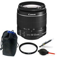 Canon EF-S 18-55mm f/3.5-5.6 IS II Lens Bundle for Canon EOS Rebel T5 & T6