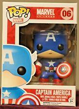 Funko POP! Marvel Universe #06 CAPTAIN AMERICA Vinyl Bobble-Head Figure