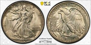 "1939 S Walker Half PCGS 67 ""CAC"" & ""Secure"" Stickers FREE SHIPPING US ONLY"