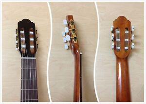 Miguel Almeria 501 120 (S2-6S) Solid Cedar Top Classical Guitar Natural+Gig Bag