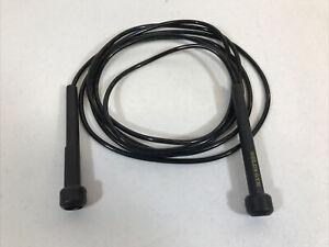 Gold's Gym 9' Ft Jump Rope Black Vinyl W/ Plastic Handles