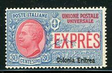 Italy 1909 Eritrea Express Mail 30¢ Scott #D34 Mint D891