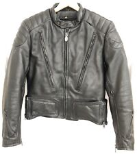 First Gear Hein Gericke S-Pilot Leather Jacket Armor Vent Harley Cafe BMW 46 56