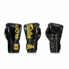BGVG1 Fairtex X Glory Black Sparring Boxing Gloves Muay Thai Sparring Kickboxing