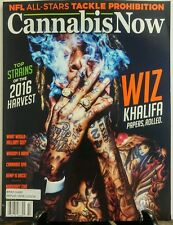 Cannabis Now Issue 22 Wiz Khalifa Papers Rolled Hemp is Back FREE SHIPPING sb