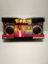 I Am T-Pain Mic Portable 2-In-1 Speakers Pro Tunes New Sealed in Box.