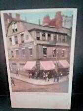 Postcard Old Corner Book Store in Boston, MA, Oldest in US  Z2