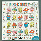 5636-5639 MESSAGE MONSTERS Full Sheet (20 stamps) MNH 2021 Sep 30