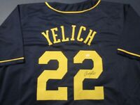 Christian Yelich ⚾️ signed Brewers jersey *Authenticated*