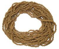 Myrrh Beads 4mm Mali African Brown Seed Wood 38 Inch Strand Handmade