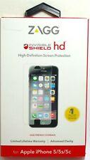 ZAGG - Invisible Shield HD Protector de Pantalla Para IPHONE Se (1st Gen ),5S/5C