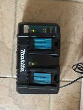 makita 18 V dual battery charger