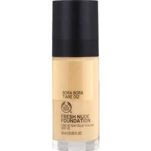The Body Shop Fresh Nude Foundation 012 Bora Bora Tiare 30ml fond de teint neuf