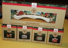 Hallmark Keepsake Minis Claus & Co. Railroad Complete Set! w/ Display Nip