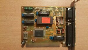 Video and Serial Controller Card on ISA Slot From 386 Computer