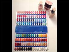 120 Nail Art Tips Präsentationsdisplay Klar Nagellack Farbkarte Farbpalette