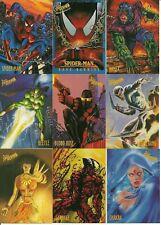 1997 Fleer/Skybox Marvel Comics Spider-Man 1997 International set + bonuses