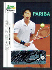 Jun Woong-Sun #BA-JWS signed autograph auto 2013 Ace Authentic Grand Slam Tennis