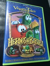 VeggieTales - Stand Up, Stand Tall, Stand Strong DVD 2007 Like New Bob vegatable