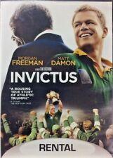Invictus 2009 DVD Morgan Freeman Matt Damon DIR Clint Eastwood