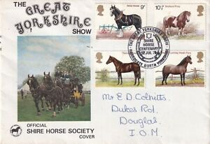 12 JULY 1978 SHIRE HORSES GREAT YORKSHIRE SHOW COVER HARROGATE SHS