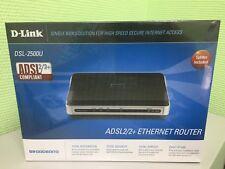 NEW D-Link DSL-2500U ADSL2/2+ Router
