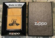 NEW OLD STOCK Zippo 250 Roseart Natural Lighter Zippo Car Sealed & Warranty