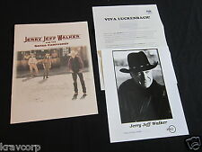 JERRY JEFF WALKER 'VIVA LUCKENBACH' 1994 PRESS KIT--PHOTO