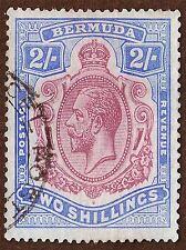 STAMP BERMUDA KING GEORGE POSTAGE ART POSTER PRINT LV3912