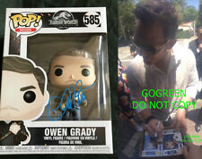Chris Pratt signed Owen Grady funko Jurassic World Fallen Kingdom photo proof