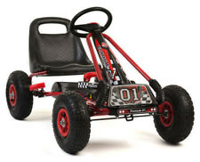 Go kart A15 with pedals and pumped wheels