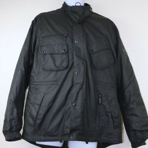 Barbour International Nomic Wax Mens Jacket size Large